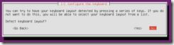 Ubuntu configure keyboard