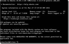 Ubuntu Logged in