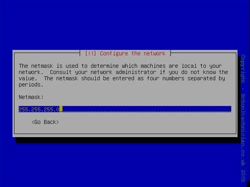 Configure the Subnet